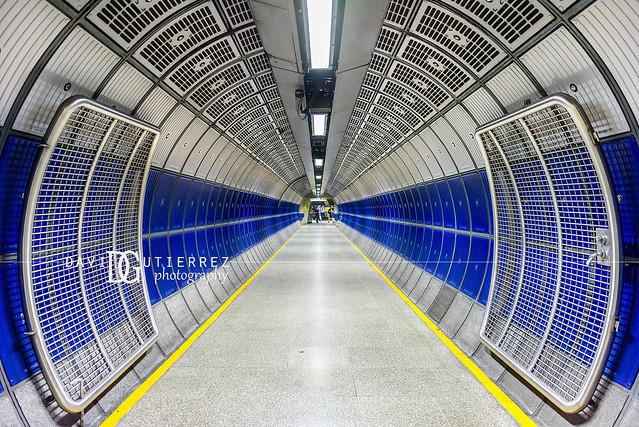 Retina II - London Bridge Underground Station, London, UK