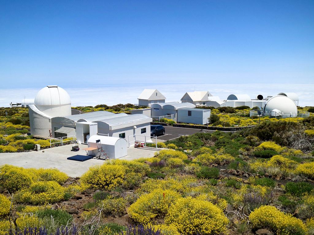 Recepción del Observatorio del Teide