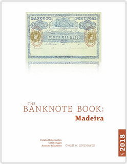 Banknote Book Madiera chapter book cover