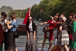Li River boat cruise, Guilin, China