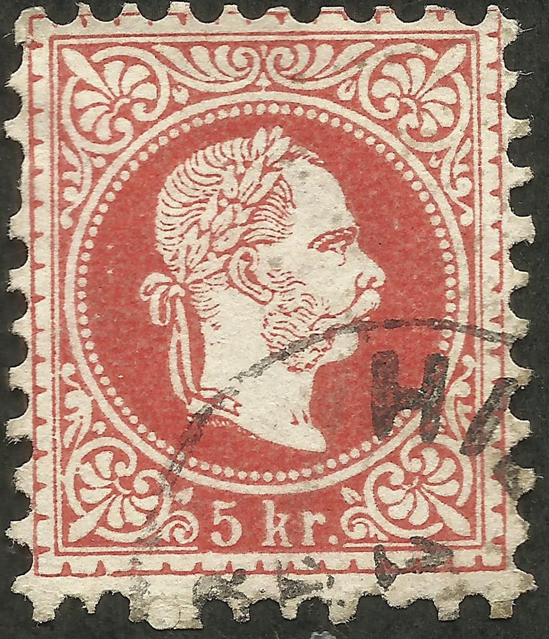 Austria-Hungary - Scott #29 (1867)