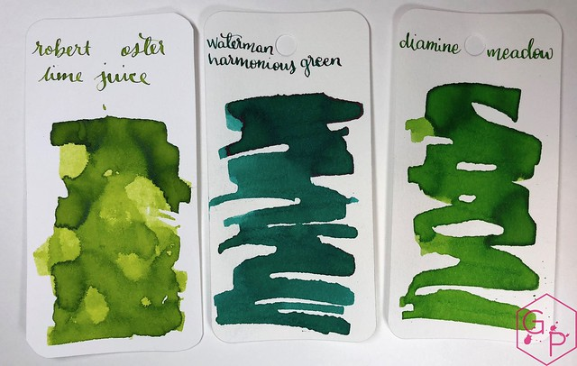 @RobertOsterInk Lime Juice Ink Review @MilligramStore 9