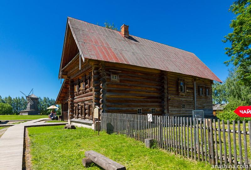 Дом зажиточного крестьянина Кузовкина, Музей деревянного зодчества, Суздаль