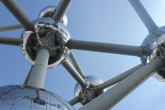 Atomium, Canon EOS 550D, Canon EF-S 18-55mm f/3.5-5.6 IS