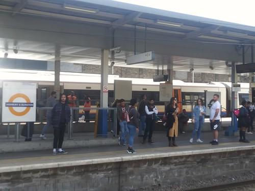 London Overground platform, Highbury & Islington Station