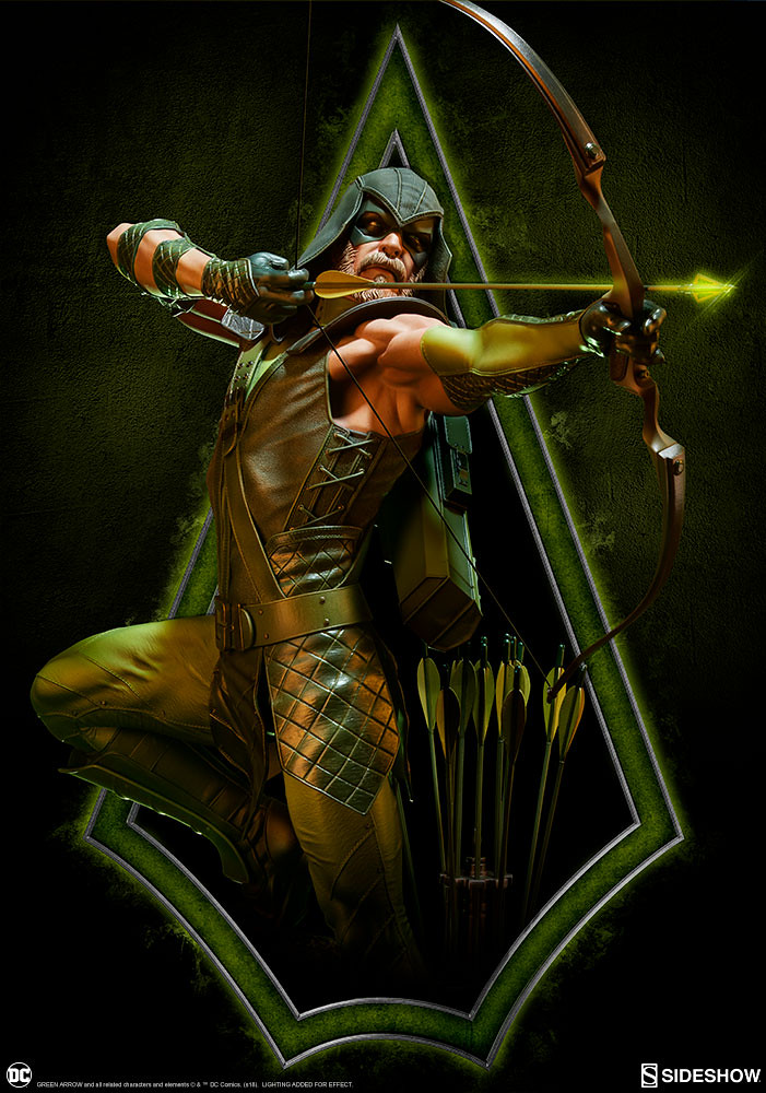 Defender of Star City! DC Comics Green Arrow 1/4 Scale Premium Format Figure by Sideshow Collectibles