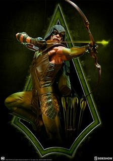 百步穿楊的現代羅賓漢!! Sideshow Collectibles Premium Format Figure 系列 DC Comics【綠箭俠】Green Arrow 1/4 比例全身雕像作品