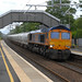GBRf 66733 6S45 09:25 North Blyth Alcan Gbrf to Fort William Alcan Gbrf