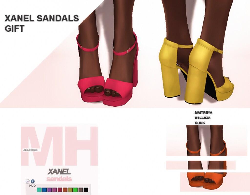 MH-Xanel Sandals Gift - TeleportHub.com Live!