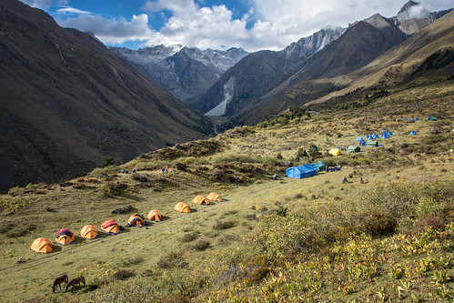 Robluthang camp - Gasa District - Snowman Trek - Bhutan