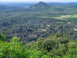 Dolomit-Formationen im Cirque de Mourèze