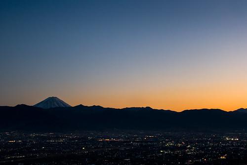 Mt. Fuji and Kofu Valley