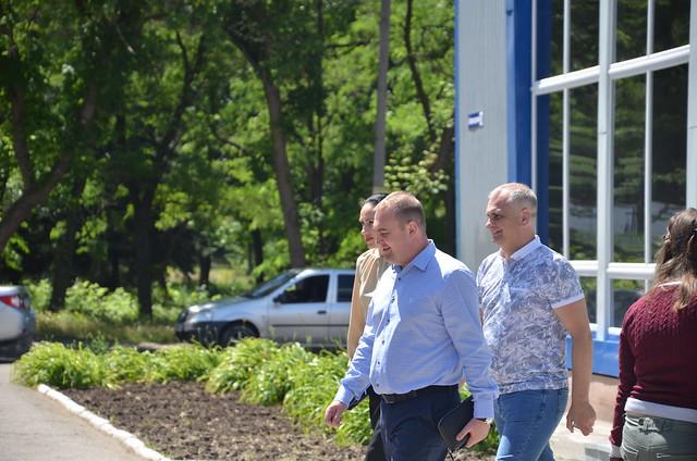 Відкриття автостанції Краматорську
