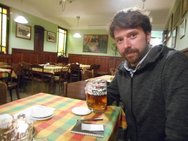 Olomouc A beer at, Nikon COOLPIX S3600