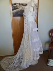Maureen Collins wedding gown 1957