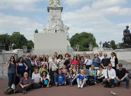 Viaje a Londres del alumnado de inglés de la Universidad Popular