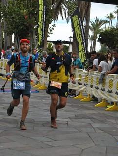 Guaguas Trail en la Tenerife Bluetrail 2018