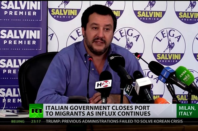 Matteo Salvini, Italy's New Strongman by Gaither Stewart