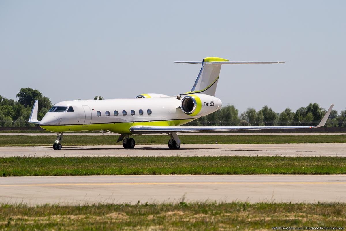 Gulfstream G550 XA-SKY