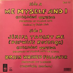 DE LA SOUL:ME MYSELF AND I(JACKET B)
