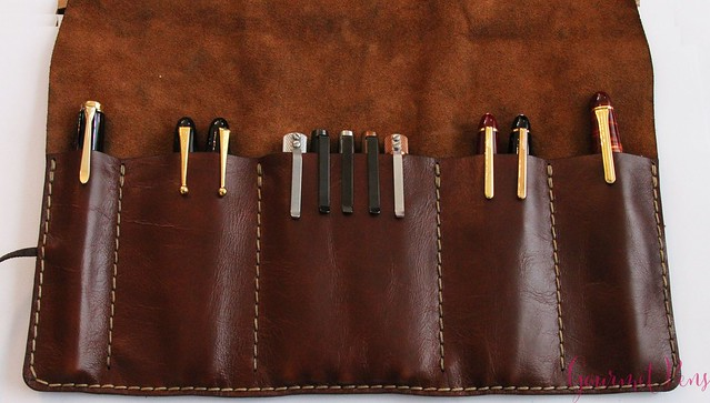 Galen Leather Tool Wrap Review @Galen_Leather 7