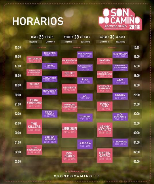 Horarios-O-Son-do-Camiño-2018