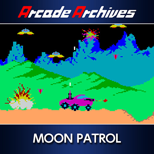 Arcade Archives MOON PATROL