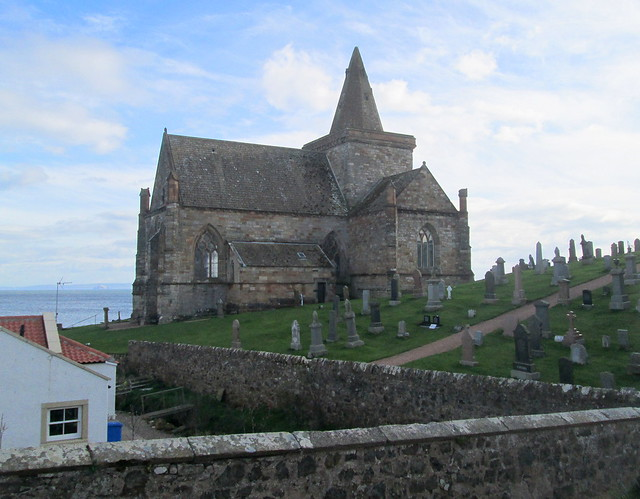 St Monans Kirk From Access Road