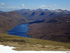 Lawers range above Loch Lyon