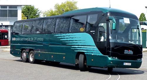 SIL 6438 'Skills Coaches'. Neoplan Tourliner AuN2216/3SHDL /3 on Dennis Basford's railsroadsrunways.blogspot.co.uk'