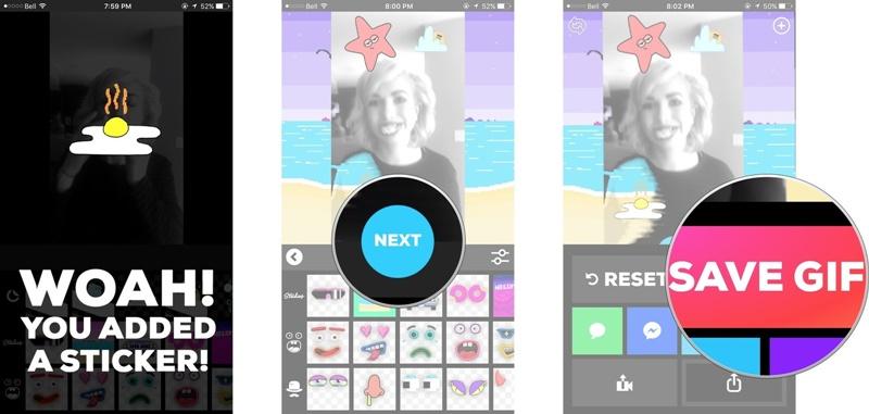 app tạo ảnh gif từ video