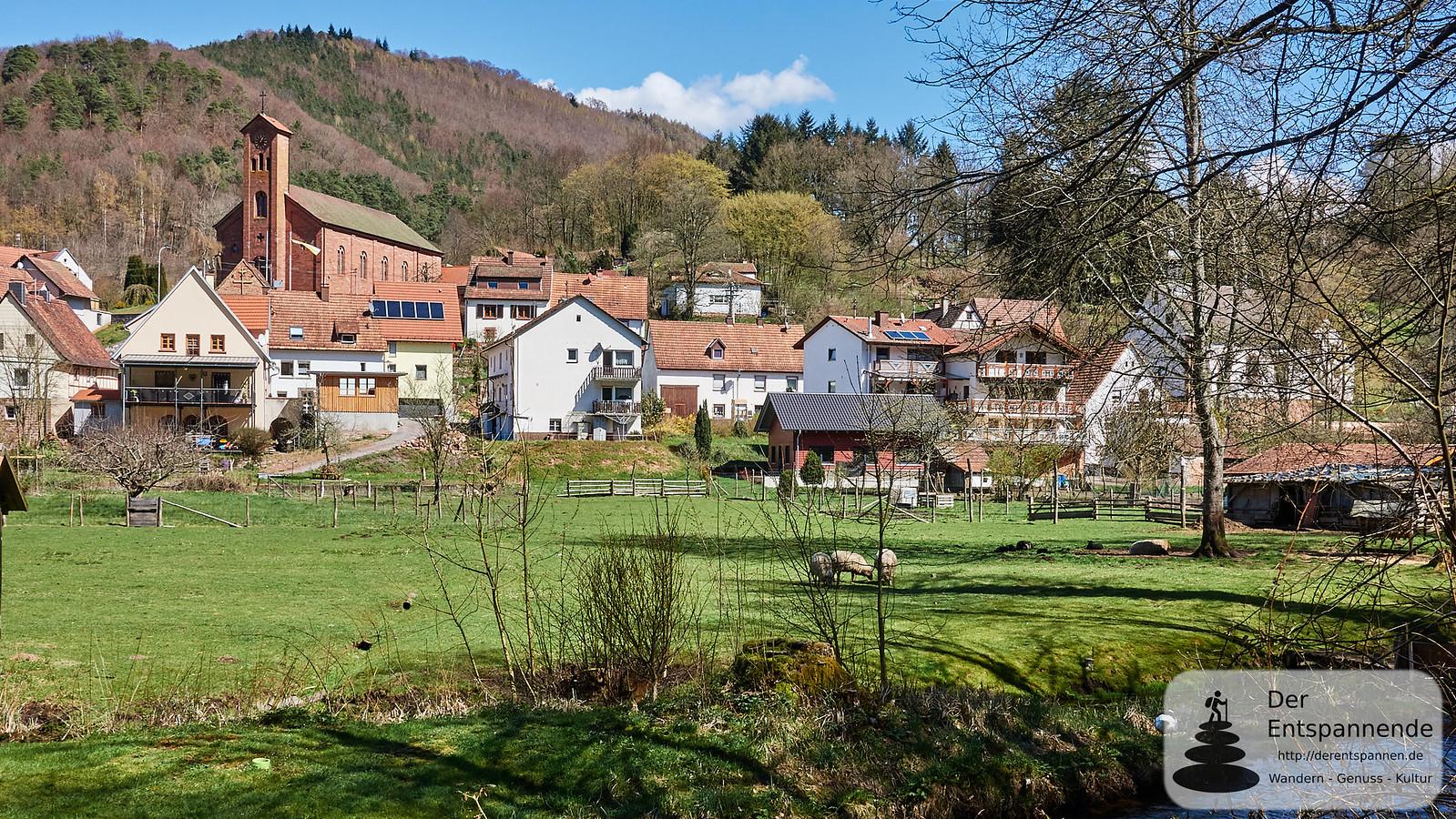 Saarbach (Sauer) bei Schönau (Pfalz)