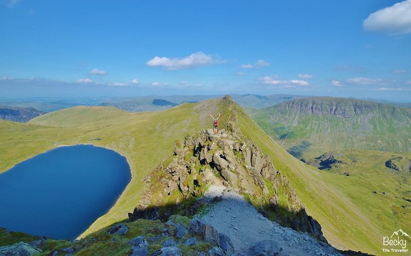 Helvellyn back via Striding Edge - Lake District (4)