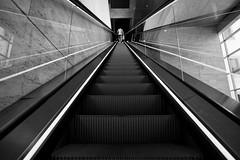 Escaleras con punto de fuga