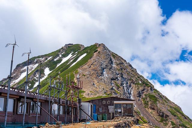 赤岳天望荘と赤岳