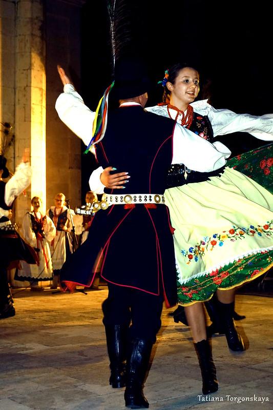 Польская пара на фестивале в Херцег Нови