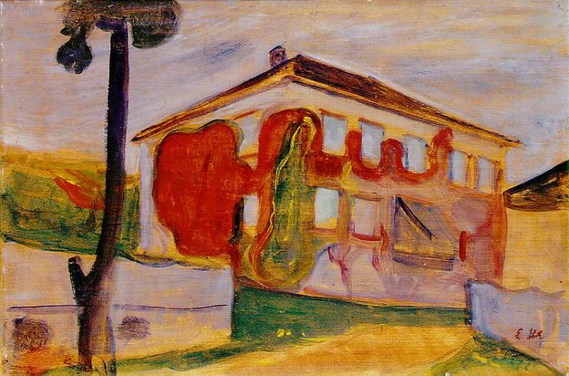 Червоний повзун, 1900