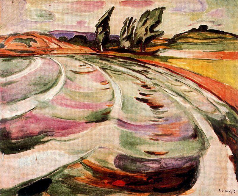 Пейзаж, 1921