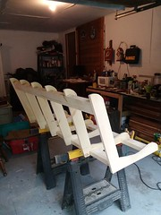 Porch swing in process...