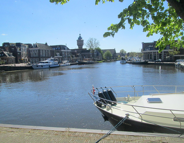 View from Waterpoort, Sneek