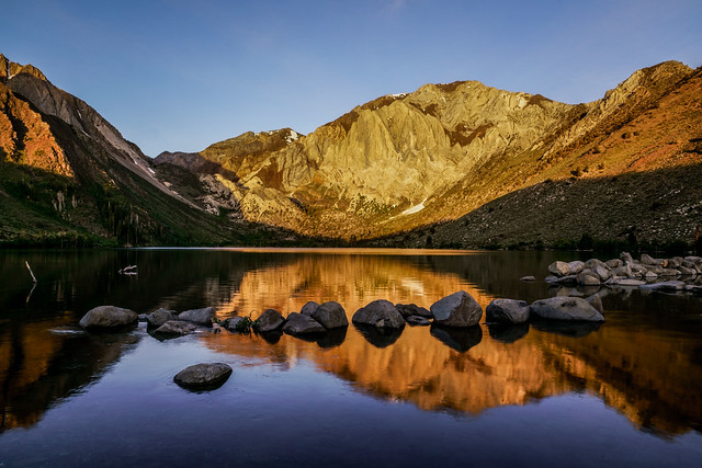Mammoth Mountain: Convict Lake Sunrise