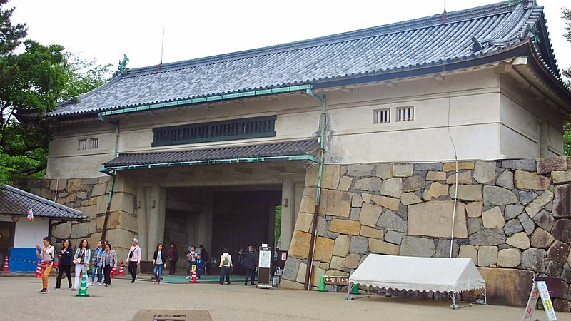 Nagoya Castle completed 1612