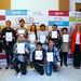 30/05/2018 - Entrega de los diplomas a los estudiantes autistas participantes en Deusto en una acción formativa de APNABI para mejorar su empleabilidad e inserción laboral