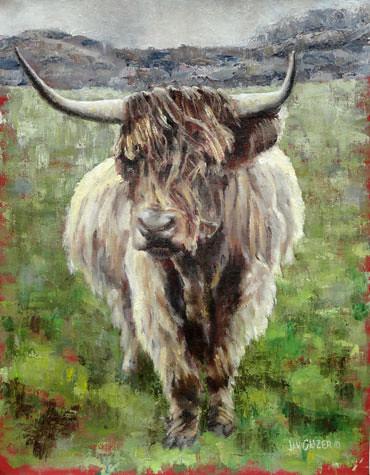 Uig-Highlander. Artist Jan Clizer