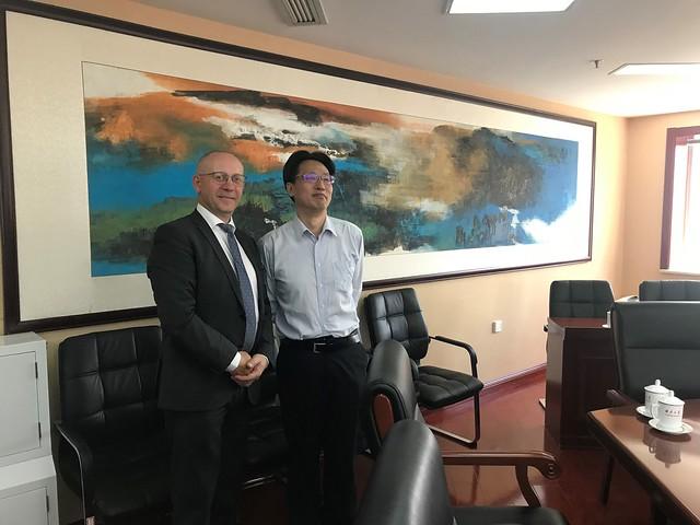 EM valsts sekretāra Ērika Eglīša vizīte Ķīnā