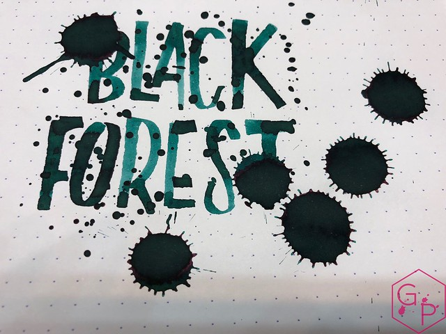 Franklin-Christoph Black Forest Ink Review @1901FC 13