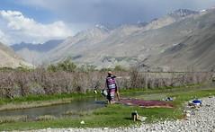 Langar / Лангар (Tajikistan) - View towards Afghanistan