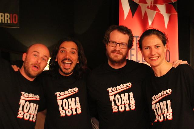 TOMA Teatro 2018 - Ocupa tu espacio. TOMA la participación