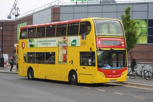 Yellow Buses 186 SK07DYB