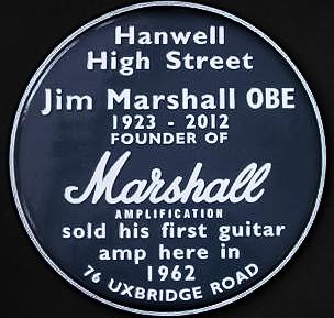 Jim Marshall blue plaque | Open Plaques